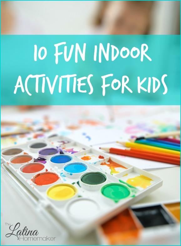 10 fun indoor winter activities for kids for Indoor crafts for kids