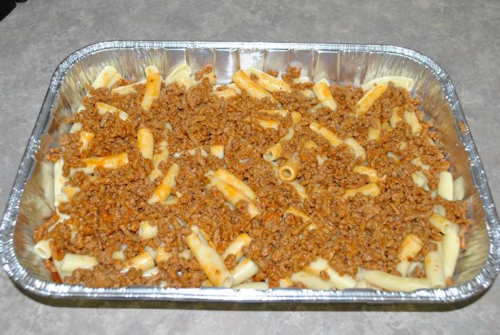 Baked Ziti {Lasagna Style}
