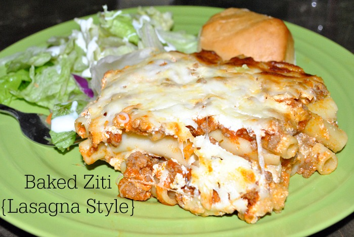 with eggplant baked ziti with creamy kale sausage baked ziti with ...