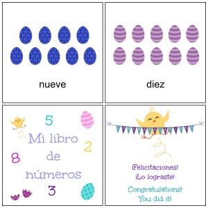 Numbers in Spanish  9-10
