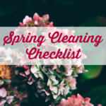 Spring Cleaning Checklist {Free Printable}