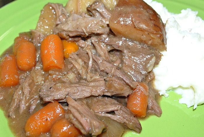 Slow Cooker Beef Pot Roast Recipe How to Make Beef Pot