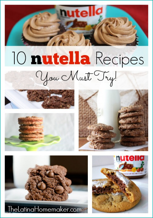 10 Nutella Recipes You Must Try!