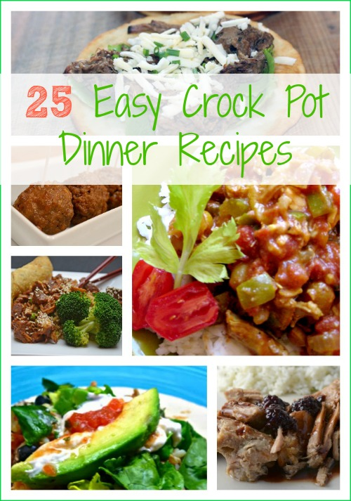 25 Easy Crock Pot Dinner Recipes