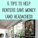 5 Tips To Help Renters Save Money