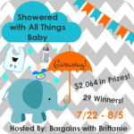 showered with all things baby giveaway