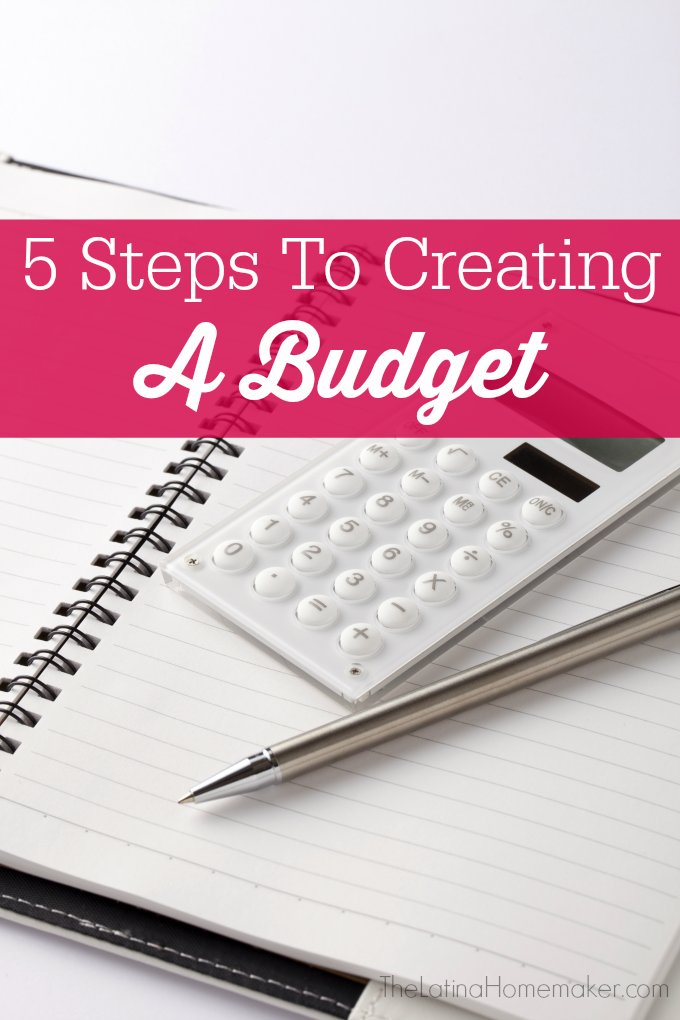 5 Steps To Creating A Budget. Five simple steps to creating a budget along with tips to help you get your finances in order.