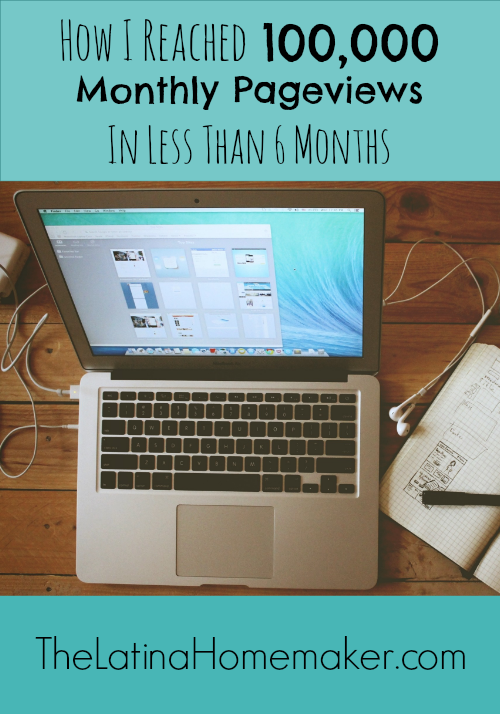 How I Reached 100,000 Monthly Pageviews In Less Than 6 Months