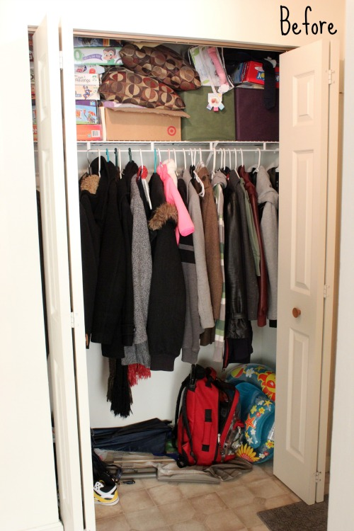 31-Days-To-A-Clutter-Free-Entryway-Before
