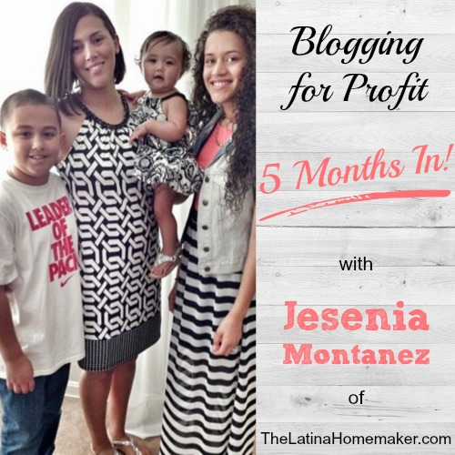 Blogging For Profit In 5 Months. A podcast interview with Brilliant Business Moms where I discuss how I made a profit blogging in 5 months!