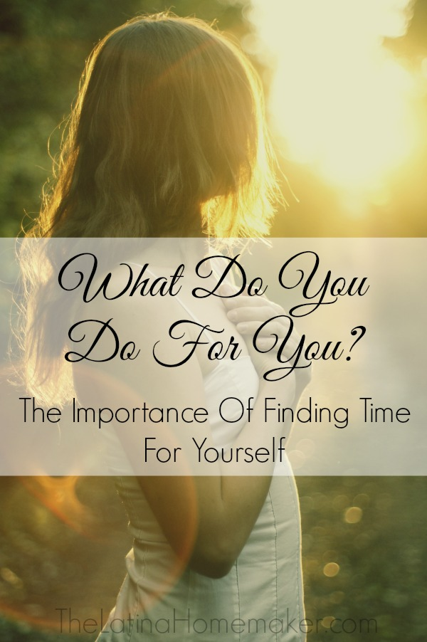 What Do You Do Just For You? The importance of finding time for yourself. Guest post by Natalie Bacon of Finance Girl.