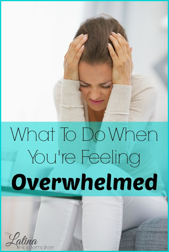 What To Do When You're Feeling Overwhelmed.  We've all been there and it's easy to feel desperate and alone, but sometimes it's the simple things that can help you get through a rough day. Here a few that have helped me in the past.