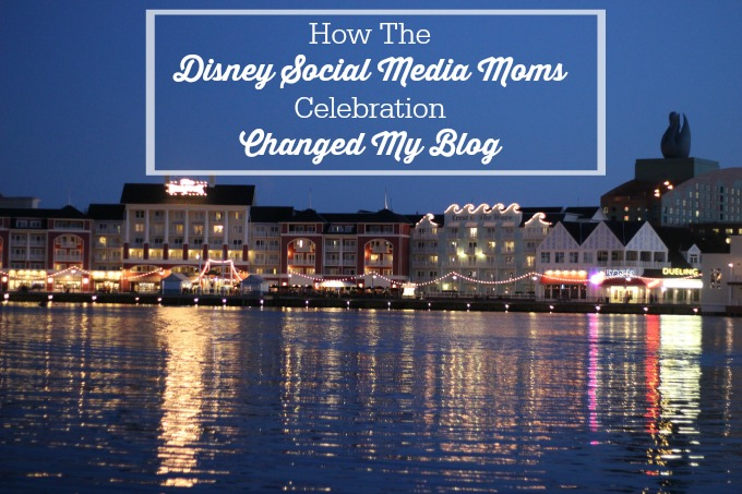 How The Disney Social Media Moms Celebration Changed My Blog-After attending the Disney Social Media Moms Celebration I was inspired to make changes. Find out why.