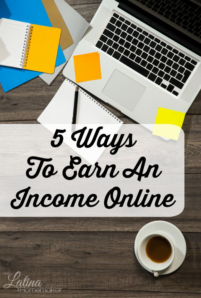 Want to work online from home, but not sure where to start? Check out these five great ways you can start earning an income from home! I've tried most of these myself and can assure you they are all legitimate. So what are you waiting for?