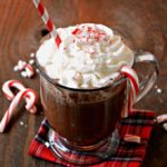 Homemade Peppermint Hot Chocolate. This homemade peppermint hot chocolate is super easy to make and will be the perfect drink on cold winter nights.