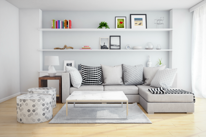 How to Furnish your Home with a Small Budget. Affordable ways to furnish your home with pieces you'll love without busting your budget.