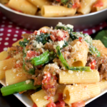 Rigatoni with Sausage and Broccoli Rabe