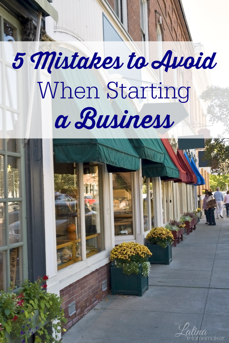 5 Mistakes to Avoid When Starting a Business. Launching a small business can be challenging, but it can also be very rewarding. Find out how you can pursue your entrepreneurial dreams while avoiding these five business mistakes.