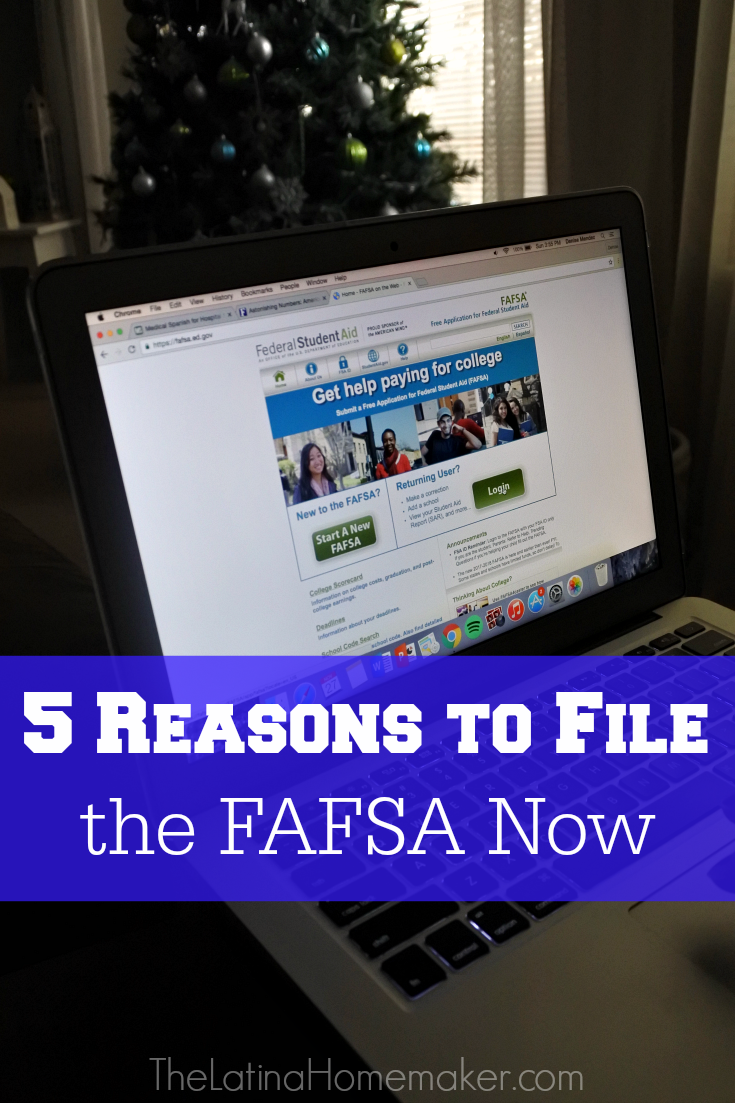 5 Reasons to File the FAFSA Now. Did you know that almost $184 billion in financial aid is available, and most full-time college students receive some type of financial aid? There are many resources available to you and your child during this important transition. Learn more today!
