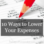 10 Ways to Lower Your Expenses