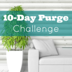 10-Day Purge Challenge {Day 2}