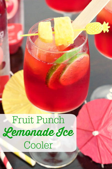 Fruit Punch Lemonade Ice Cooler + Reverse Care Package for ...