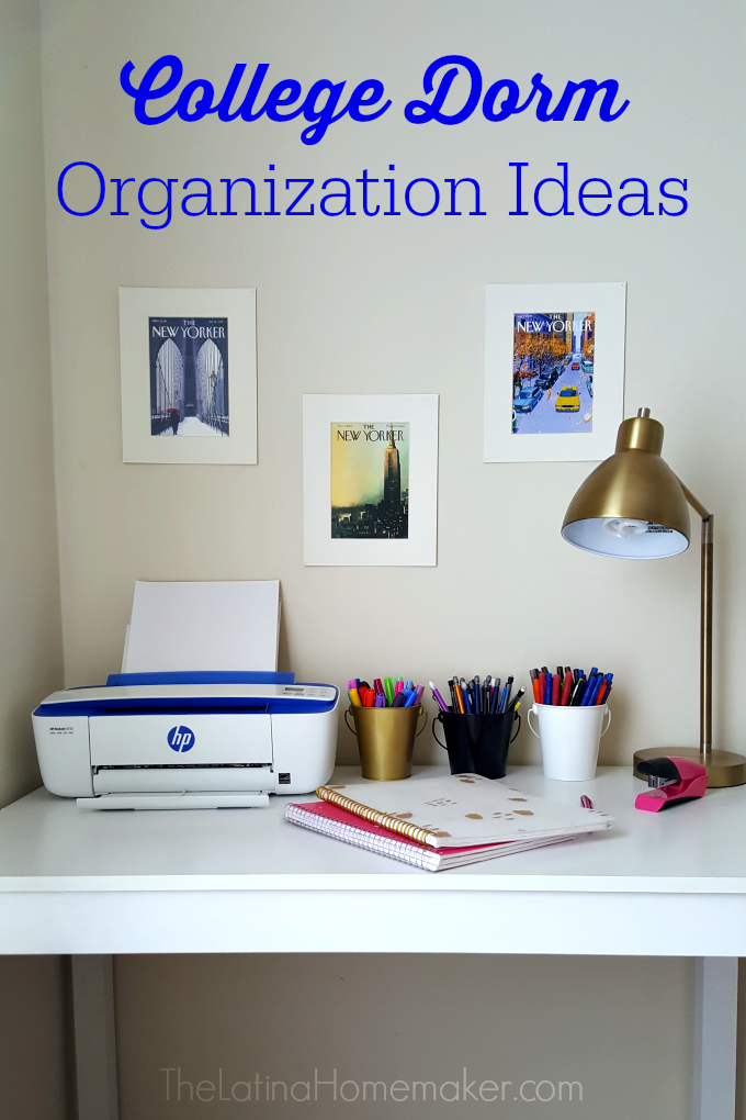 College dorm organization ideas the latina homemaker - College dorm storage ideas ...
