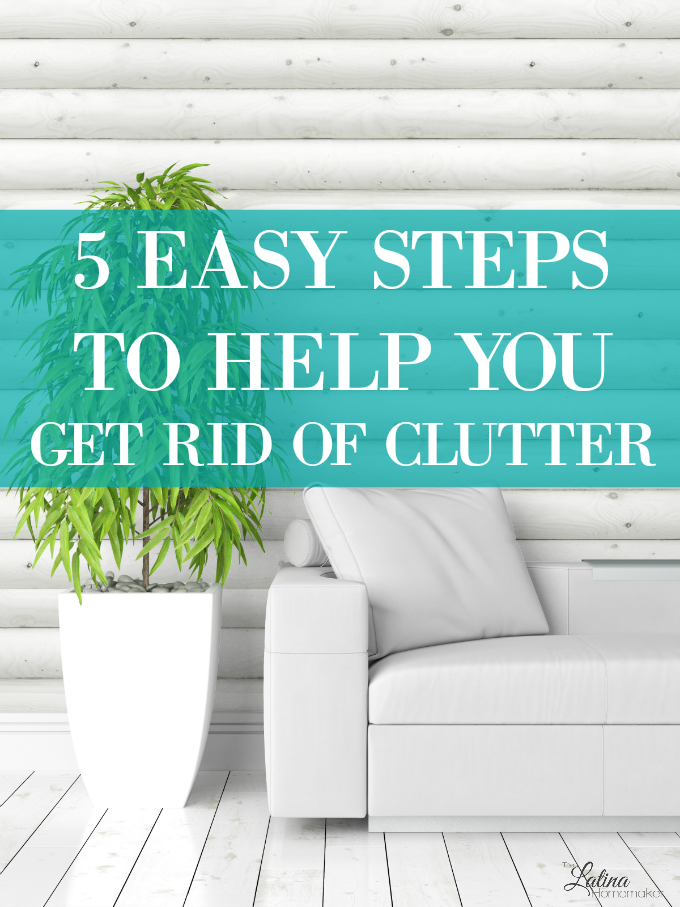 5 Easy Steps To Help You Get Rid Of Clutter – 5 easy steps you can take now to help you get rid of the excess. These are the steps I've taken in my own de-cluttering journey which have helped me take control of my time.
