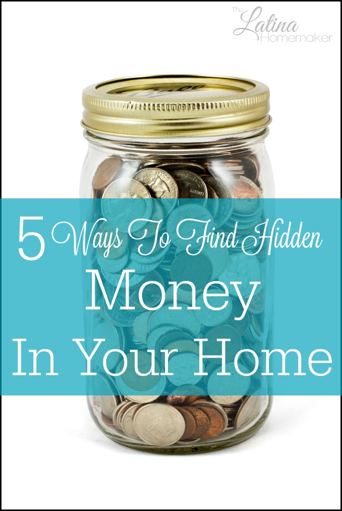 5 Ways To Find Hidden Money In Your Home-During our very lean years we were faced with a situation where we needed to come up with a lump sum of money. With a little bit of creativity we were able to come up with the cash and even have some extra leftover!
