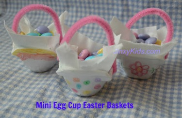 Mini Egg Cup Baskets