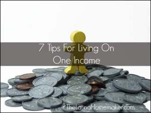 7 Tips For Living On One Income