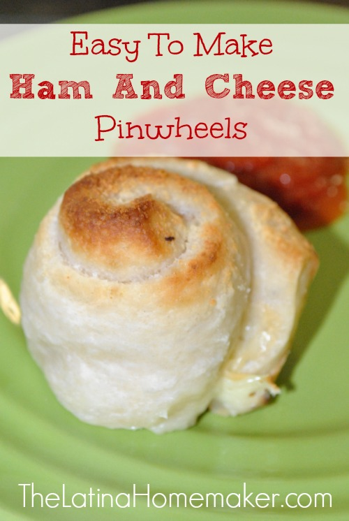 Easy To Make Ham and Cheese Pinwheels. This recipe is so easy, that even your kids will be able to make it. It's one of my kids favorites!