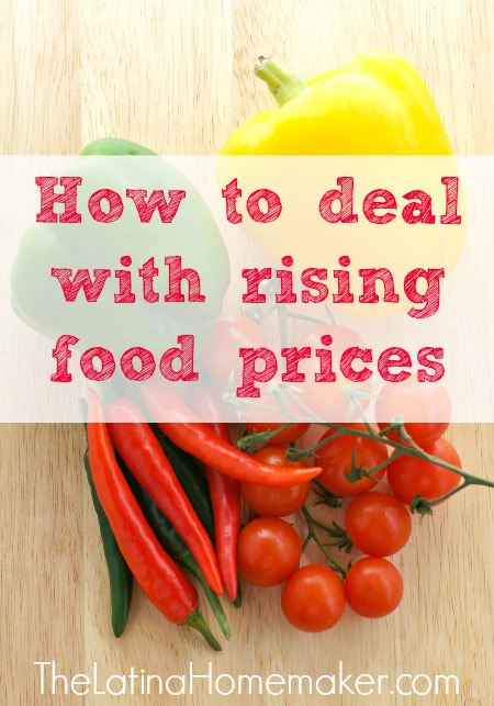 How to deal with rising food prices