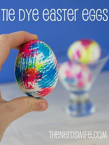 Tie Dye Easter Eggs