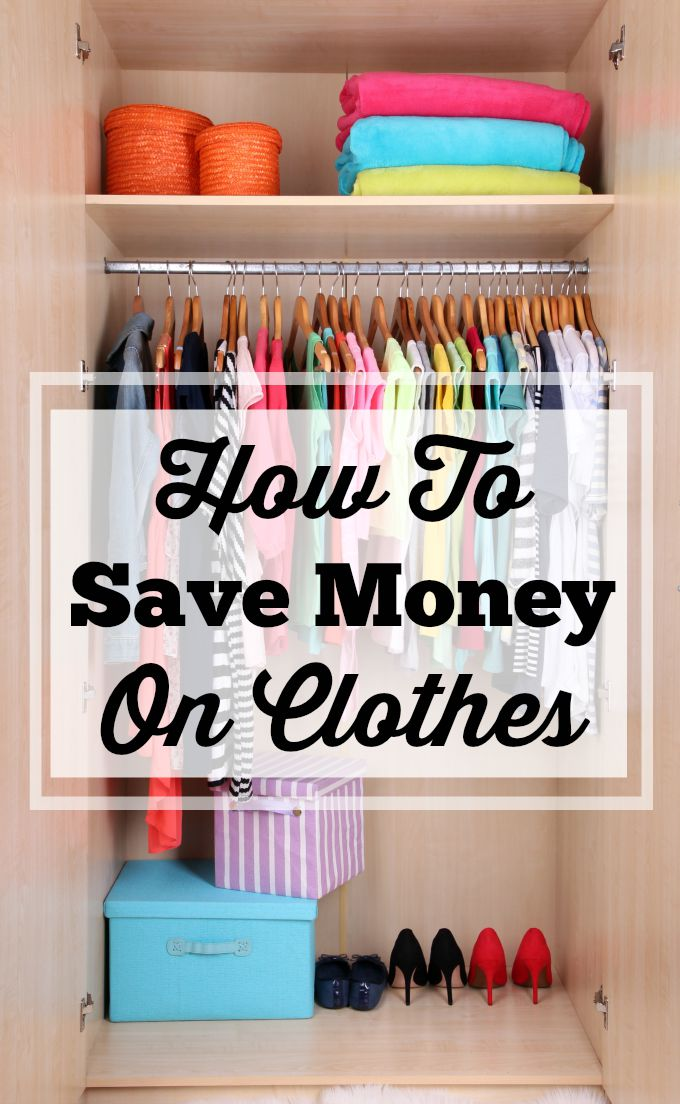 How To Save Money On Clothes Without Busting Your Budget! If you want to save money on clothes without busting your budget, check out these 12 practical tips to help you keep more money in your pocket.