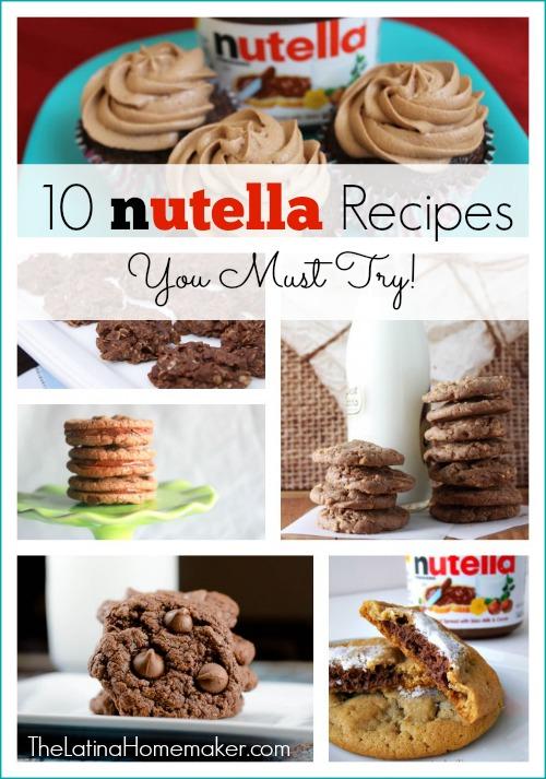 10-Nutella-Recipes