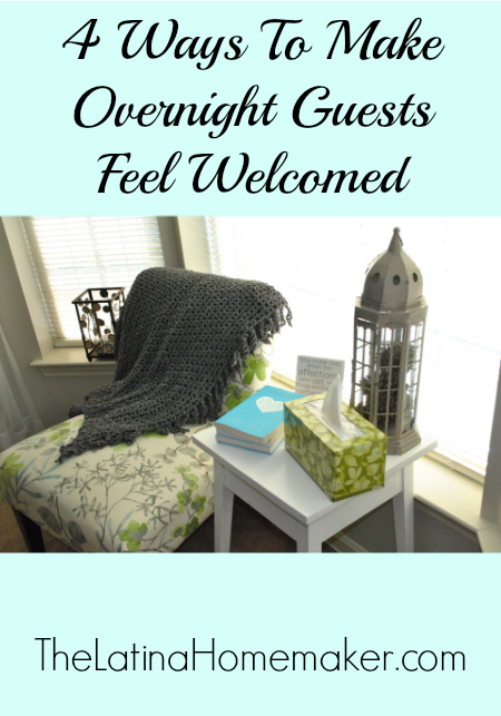 4 Ways To Make Overnight Guests Feel Welcomed