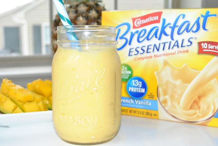 Carnation Breakfast Essentials Tropical Smoothie Recipe