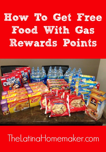 How To Get Free Food With Gas Rewards Points