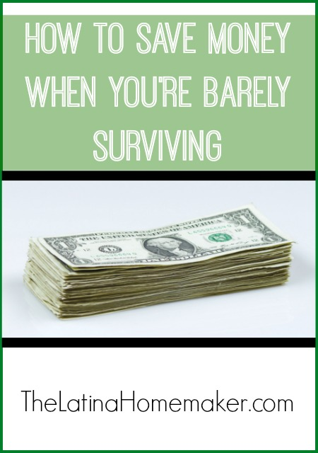 How To Save Money When You're Barely Surviving – Simple tips to help you save money even when your income is limited and your budget is tight!