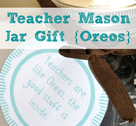 Teacher Mason Jar Gift