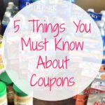 5 Things You Must Know About Coupons