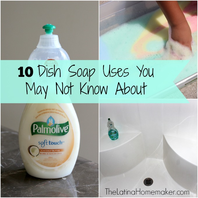 10 Dish Soap Uses You May Not Know About