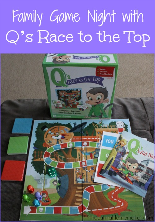 Family Game Night With Q's Race to the Top