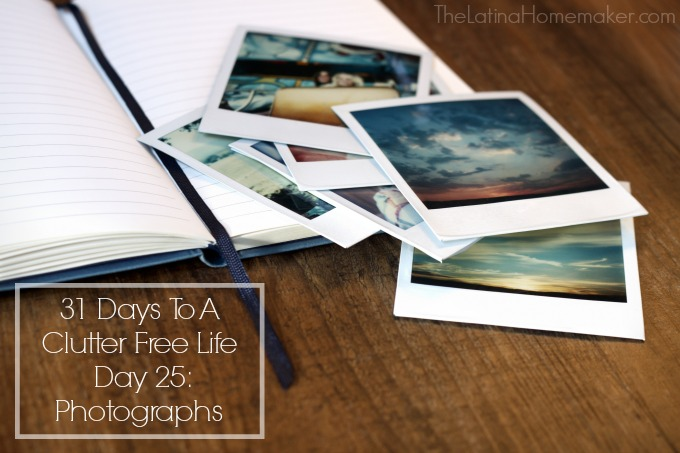 31-Days-To-A-Clutter-Free-Life-Day-25- Photographs
