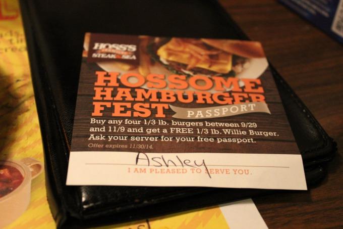 Hossome-Burger-Fest