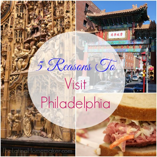 5 Reasons To Visit Philadelphia-My top 5 reasons to make Philadelphia city a destination for your family's next trip.