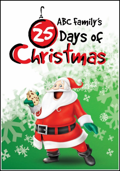 picture relating to Abc Family 25 Days of Christmas Printable Schedule titled ABC Familys 25 Times Of Xmas 2015 Routine