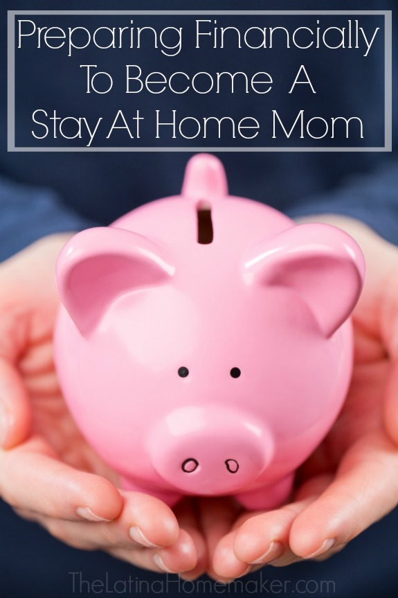 Preparing Financially To Become A Stay At Home Mom. Tips and actions on how to prepare yourself financially if you plan on becoming a stay at home mom.