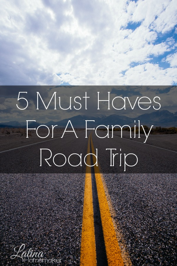 5 Must Haves For A Family Road Trip-Taking a road trip? Don't forget the essentials! Here's a list of 5 things you must have for your next family road trip.